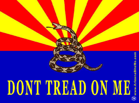 ARIZONA DON'T TREAD ON ME