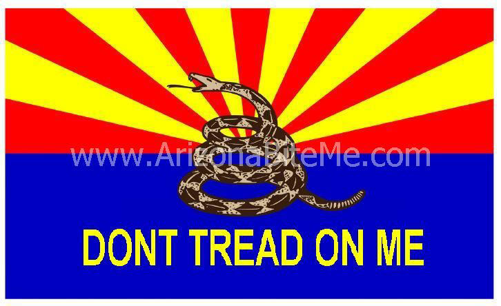 Arizona Dont Tread On Me