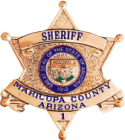 Maricopa County SHeriff Office Badge